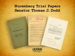 Selected documents collected by Thomas Dodd while participating in the IMT at Nuremberg