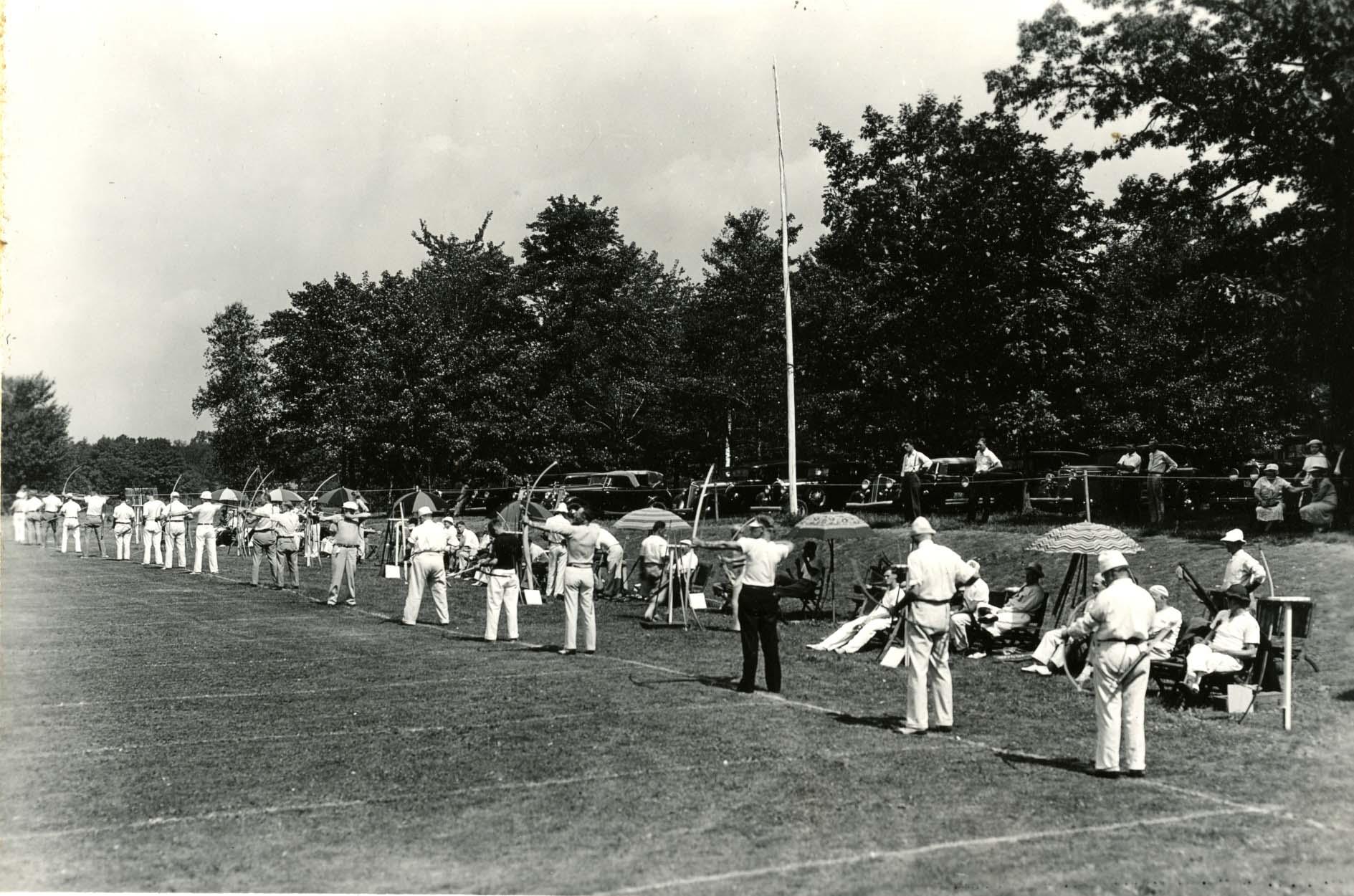 National Archery Tournament, Storrs, CT, 1934