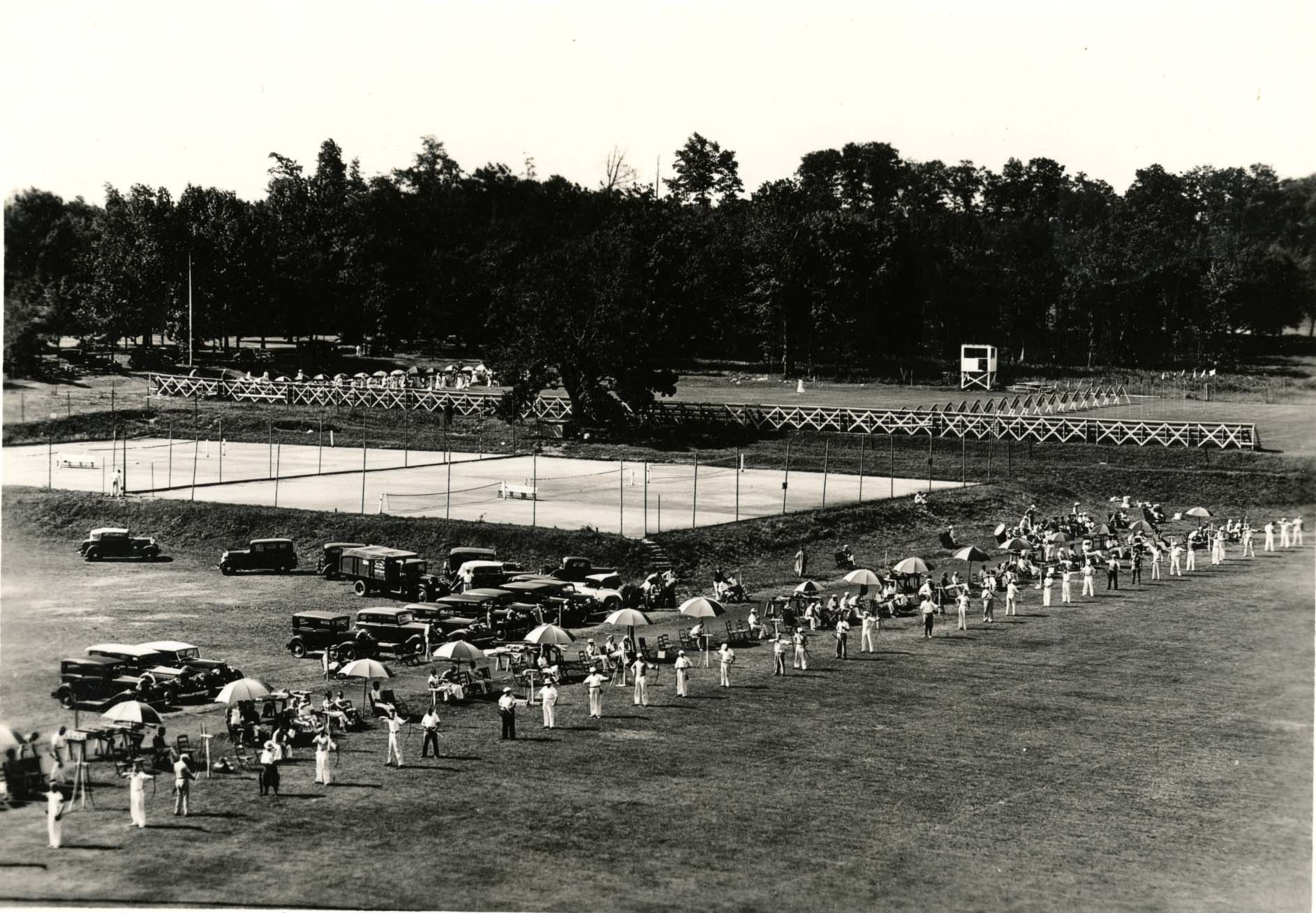 National Archery Tournament, Storrs, CT, 1934