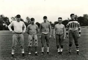 Football coaching staff, 1934