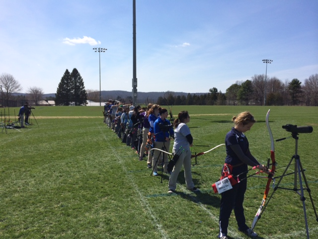 Eastern Regional Intercollegiate Archery Championship, Depot Campus, 12-13 April 2014