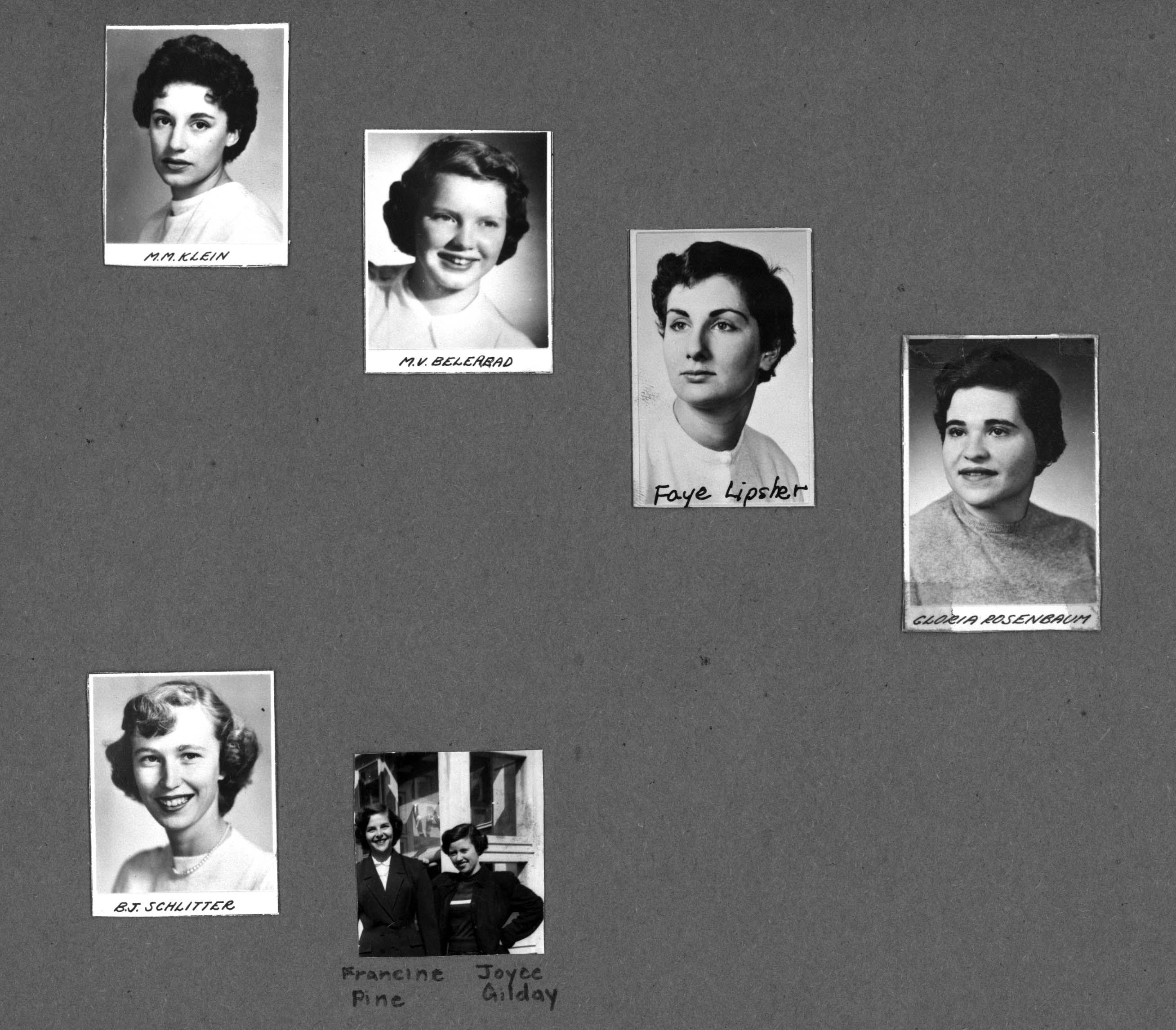 Delta Pi Scrapbook 1954-1964