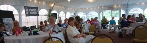 Crowded reunion at the Nathan Hale, July 26, 2014