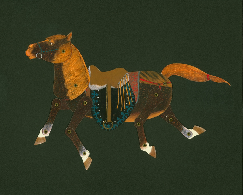 The Lost Horse, puppet