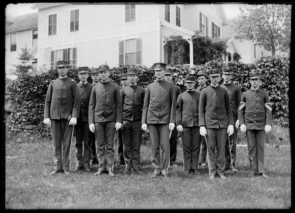 Connecticut Agricultural College cadets, 1906