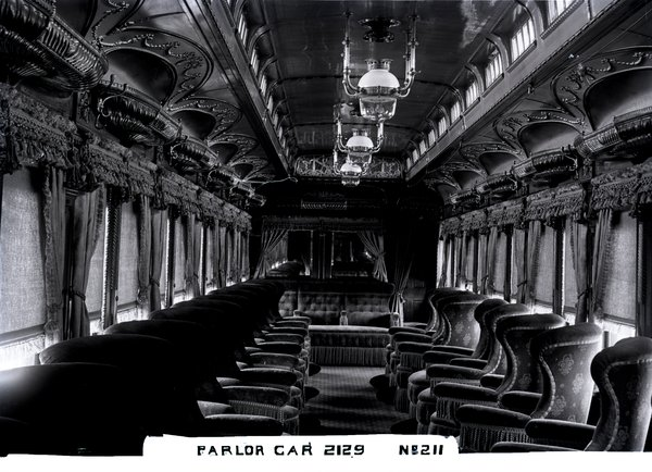 New Haven Railroad parlor car 2129, ca. 1904