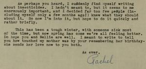 Carson Letter Excerpt