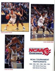 Media guide, 1994-1995 Women's Basketball