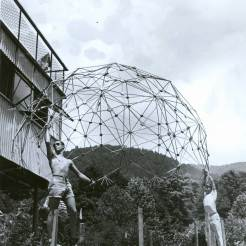 buckminster_fullers_students_at_the_1949_summer_institute_black_mountain_college_demonstrate_the_lightness_of_the_dome