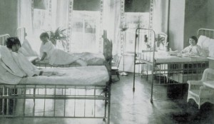 Pediatric Ward at Middlesex Hospital