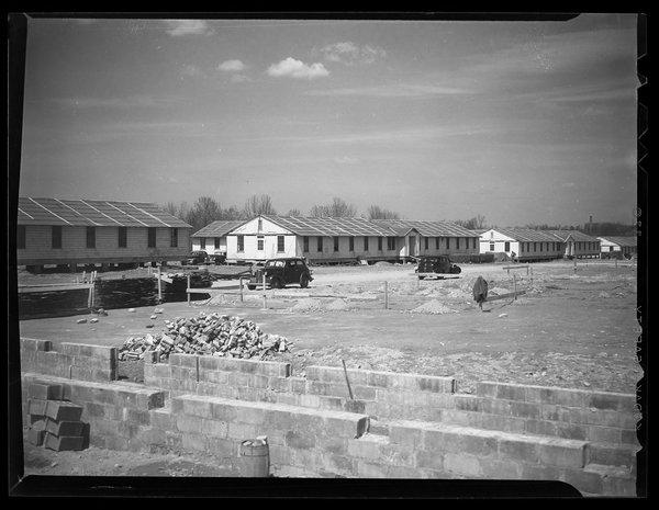 Veteran's barracks, 1946