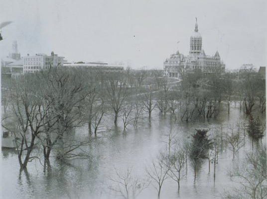 1936 Flood in Hartford