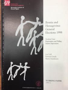 Bosnia and Herzegovina: General Elections 1998. Human Rights Internet, box 403.