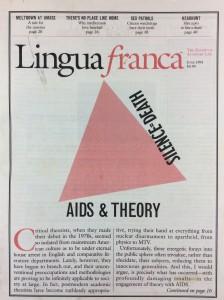 Lingua Franca, June 1991