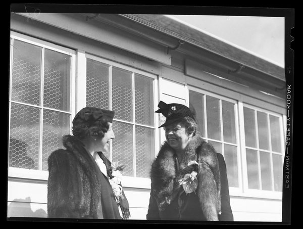 Eleanor Roosevelt and Corinne Alsop