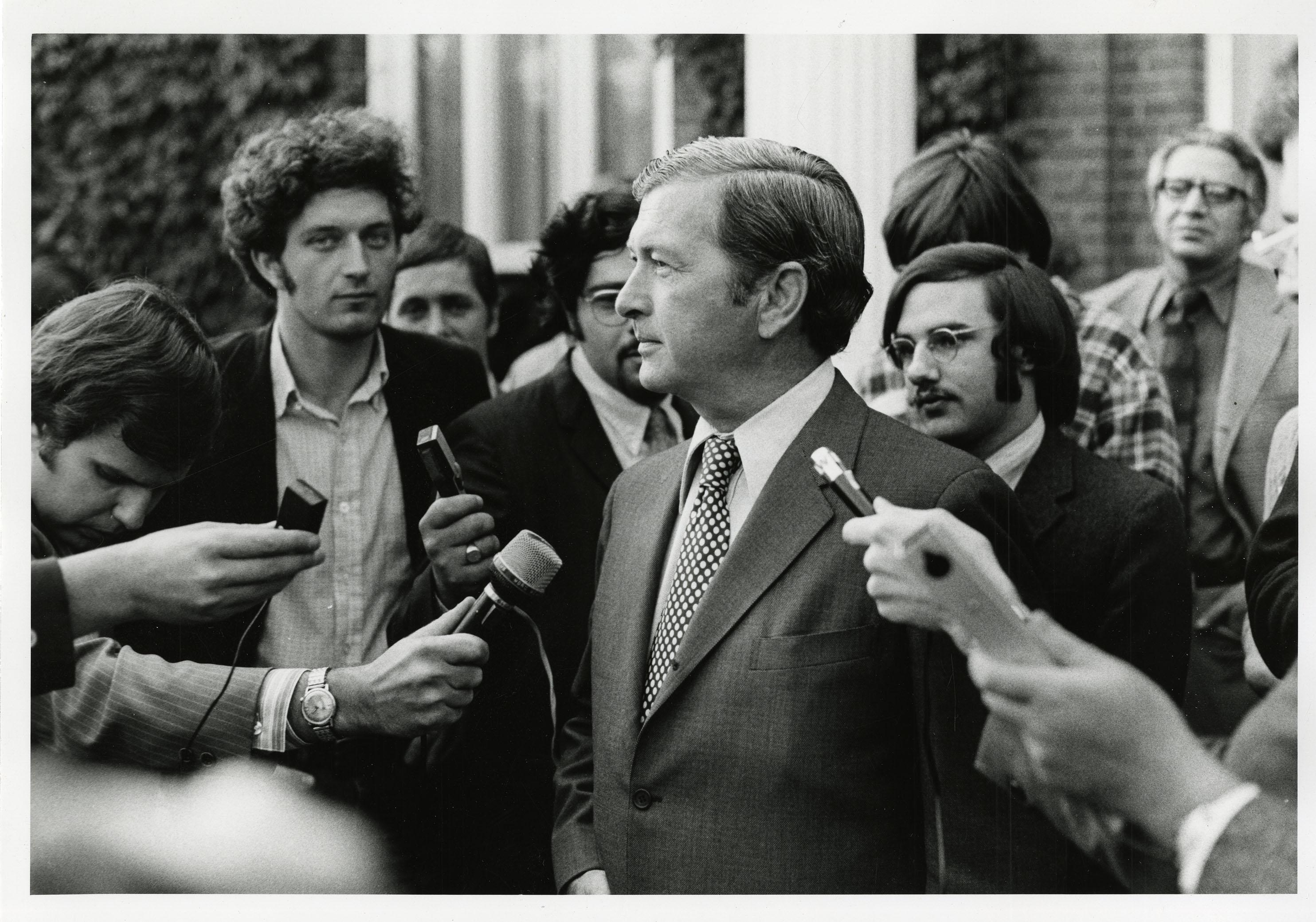 UConn President Homer D. Babbidge Jr.