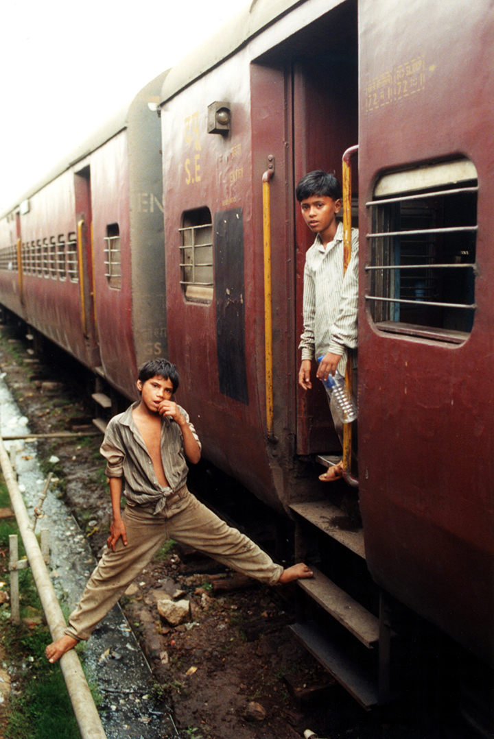 Train Children In Bhubaneswar, India