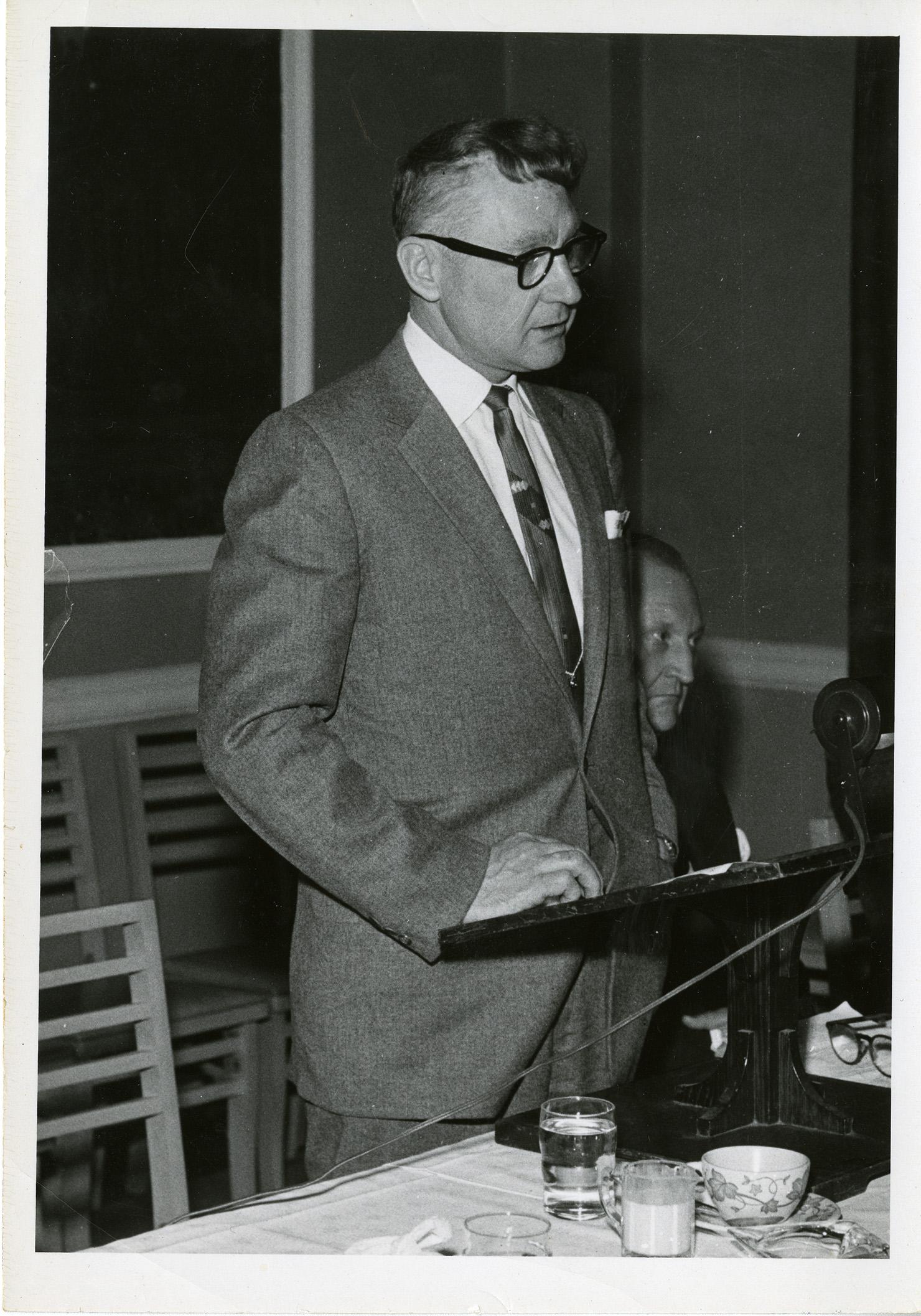 Merlin D. Bishop, 1950s