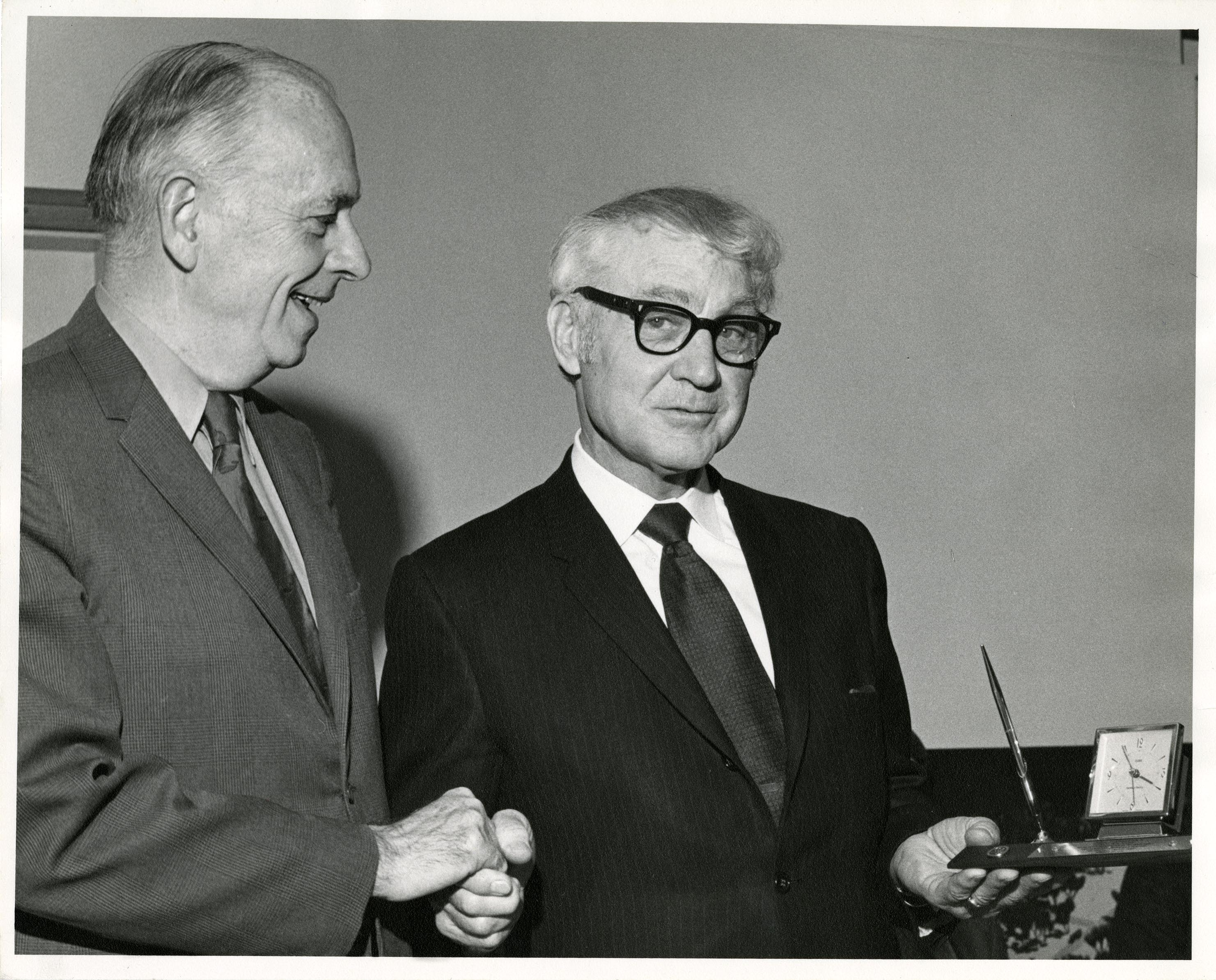 John Budds and Merlin D. Bishop, January 20, 1971