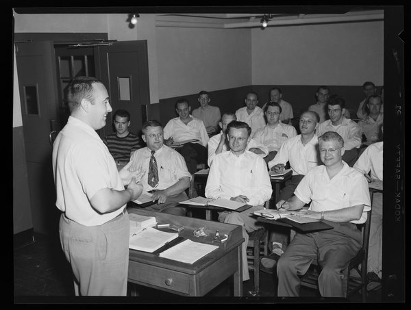 UConn Labor Education Center, Labor management conference, 1951
