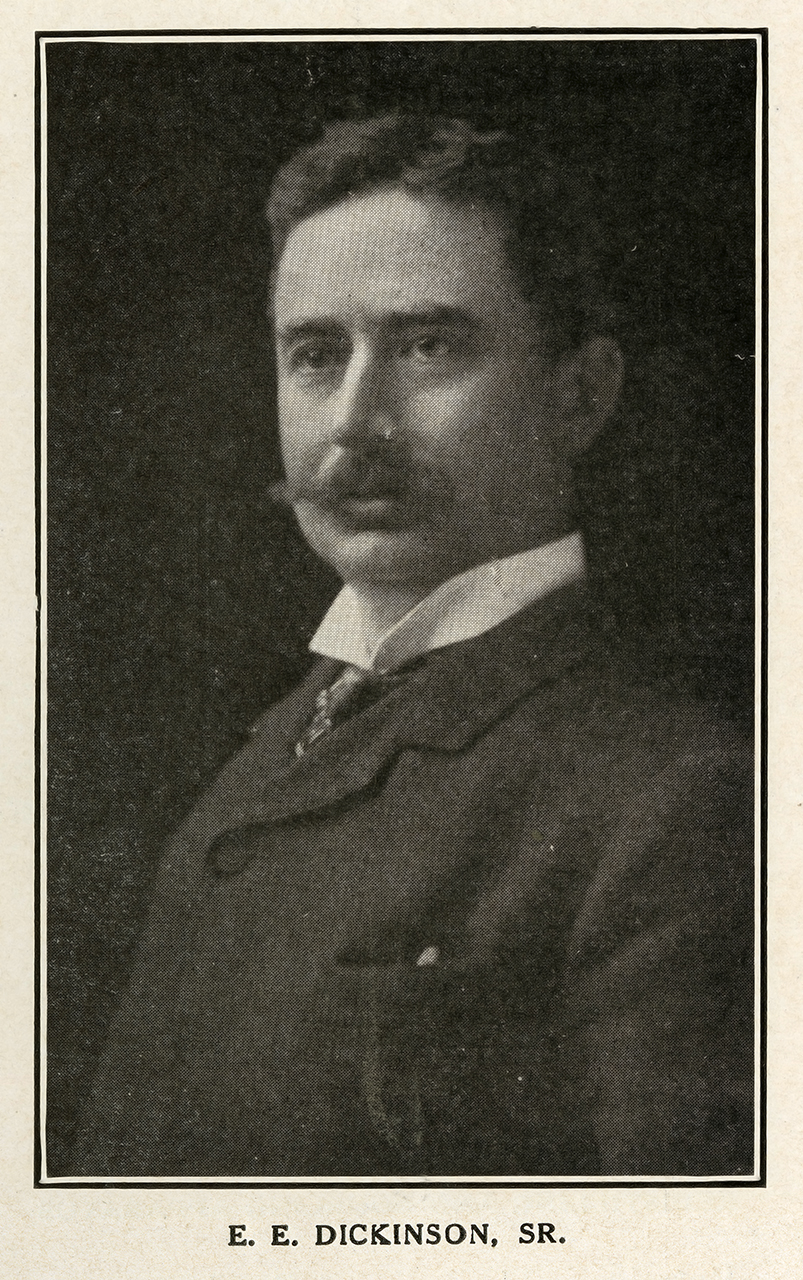 Edward E. Dickinson, President of the E.E. Dickinson Company