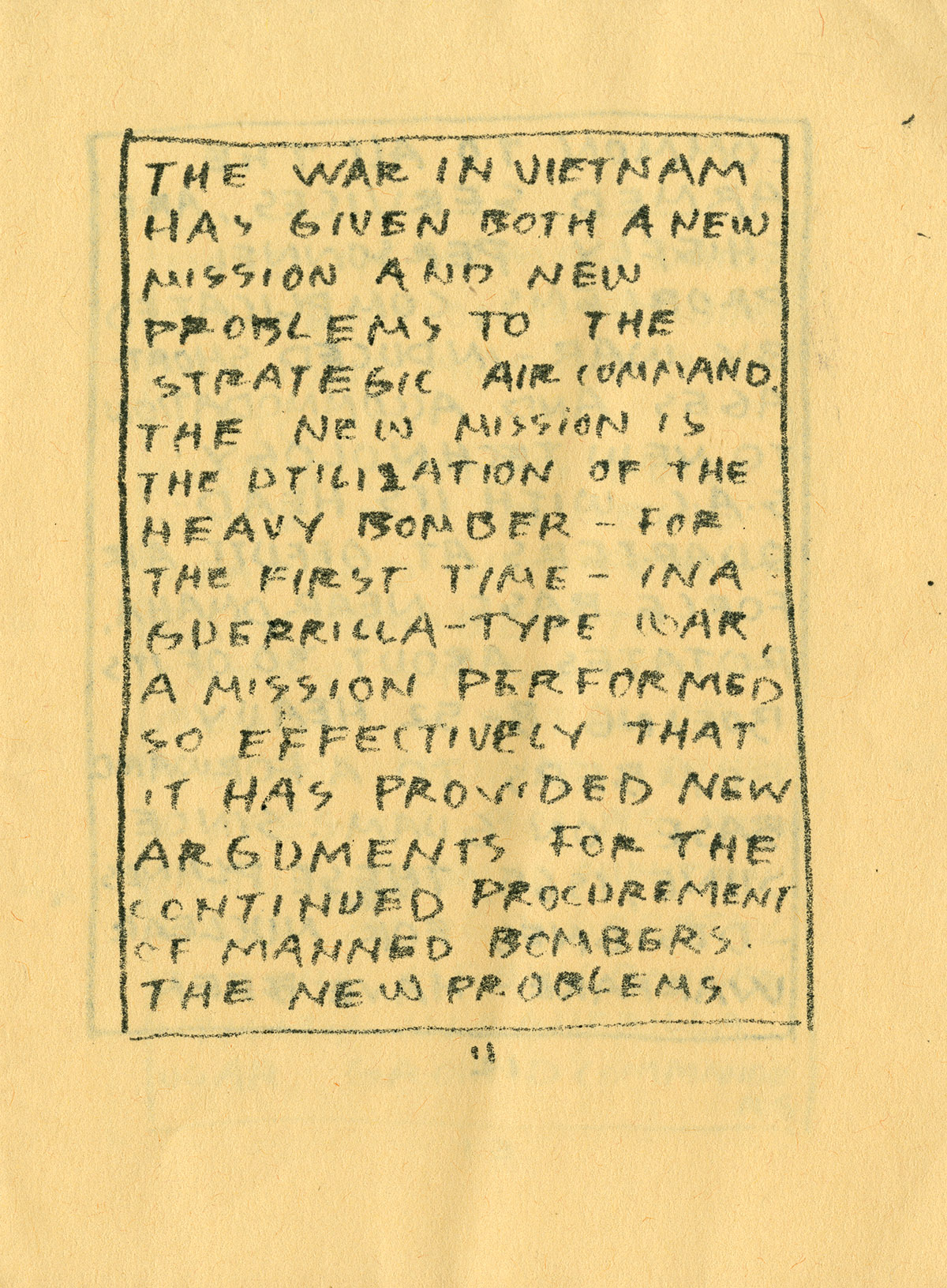 Bread and Puppet, no.4, January 1967
