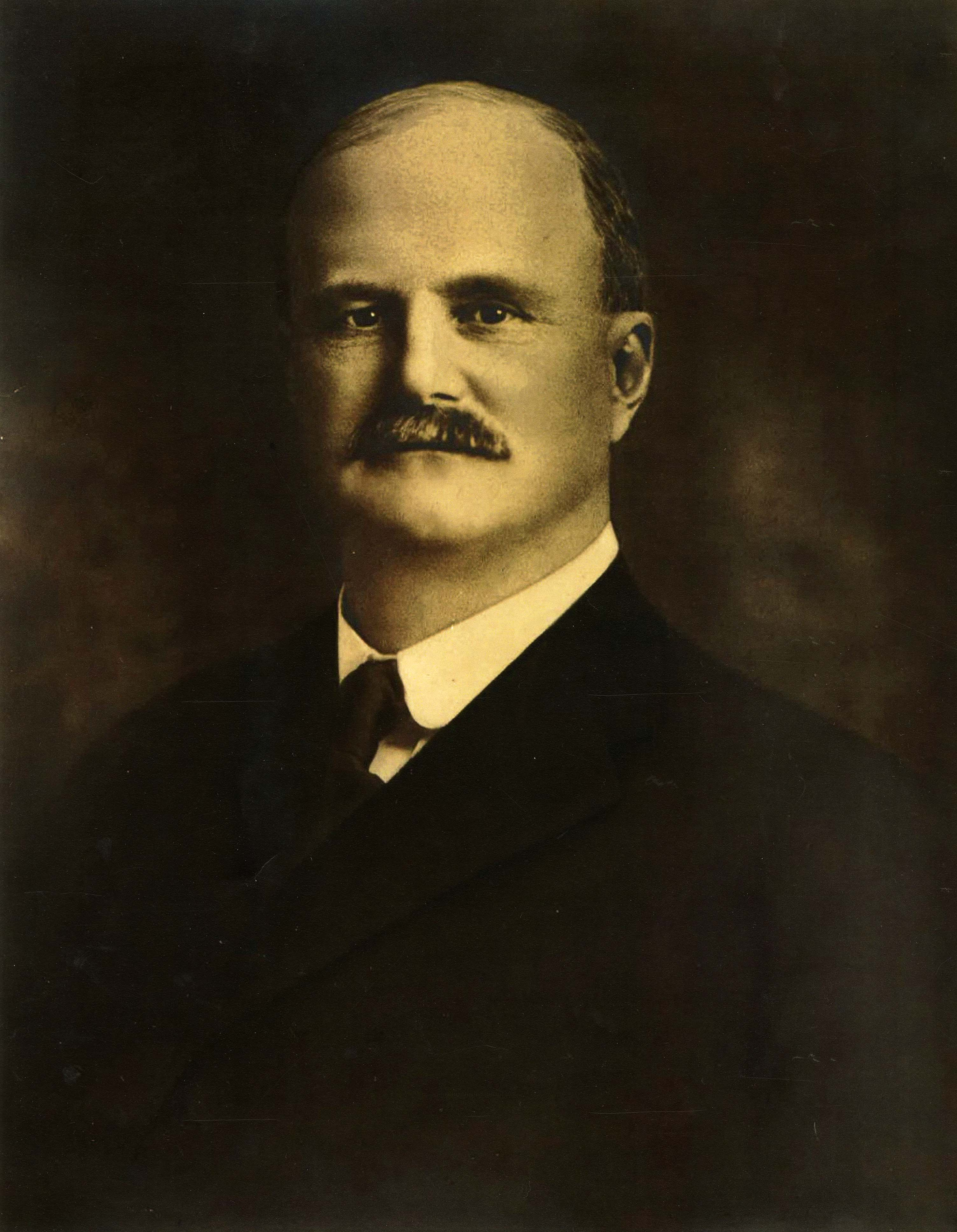 George Keeney, President of the Somersville Manufacturing Company, 1901-1923
