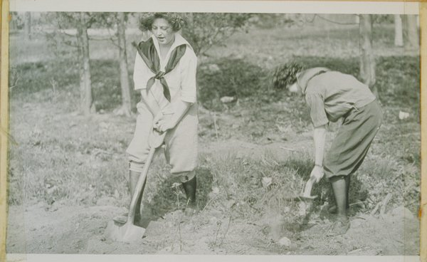 Women working during Connecticut Day