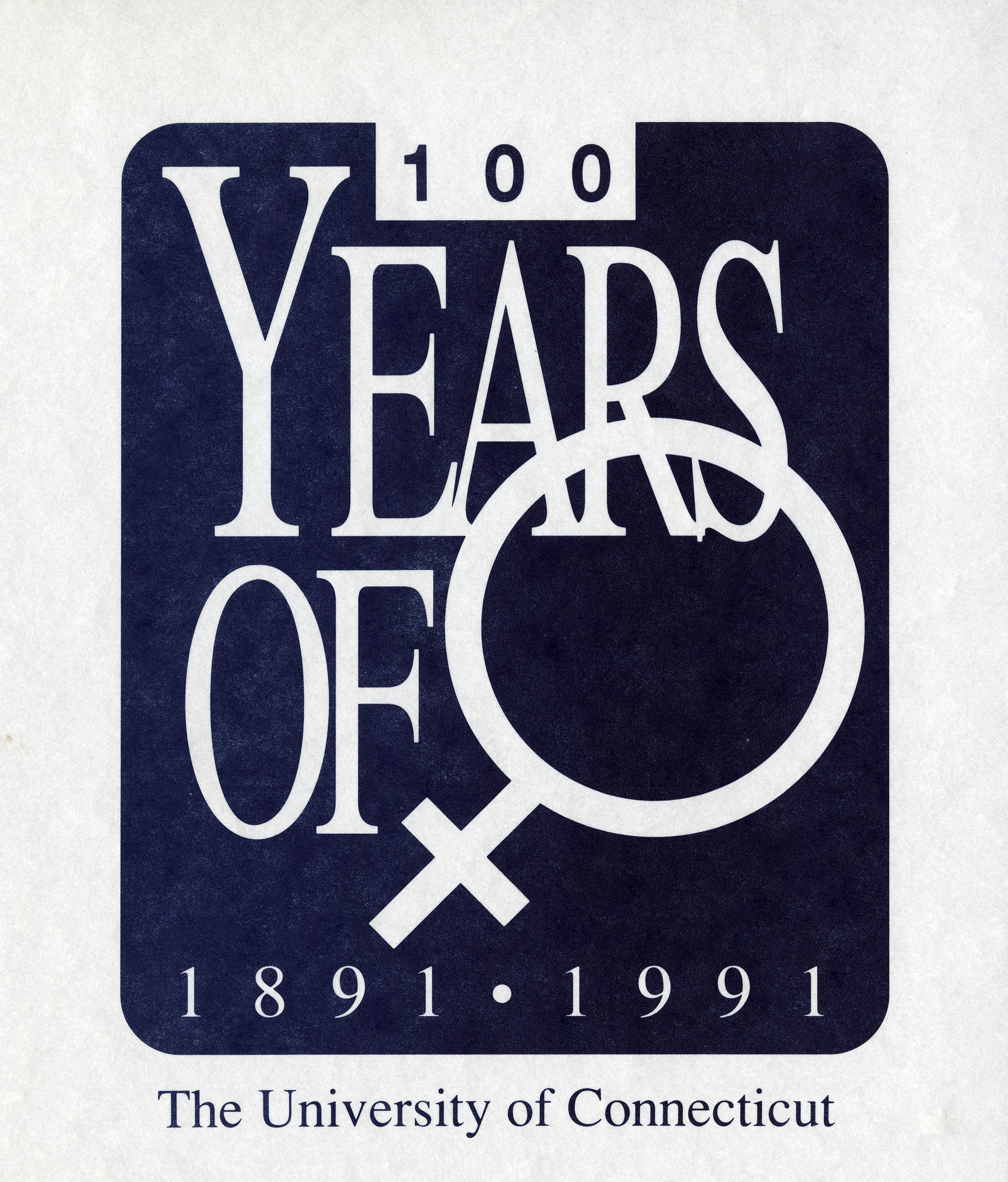 100 Years of Women at UConn (1891-1991)