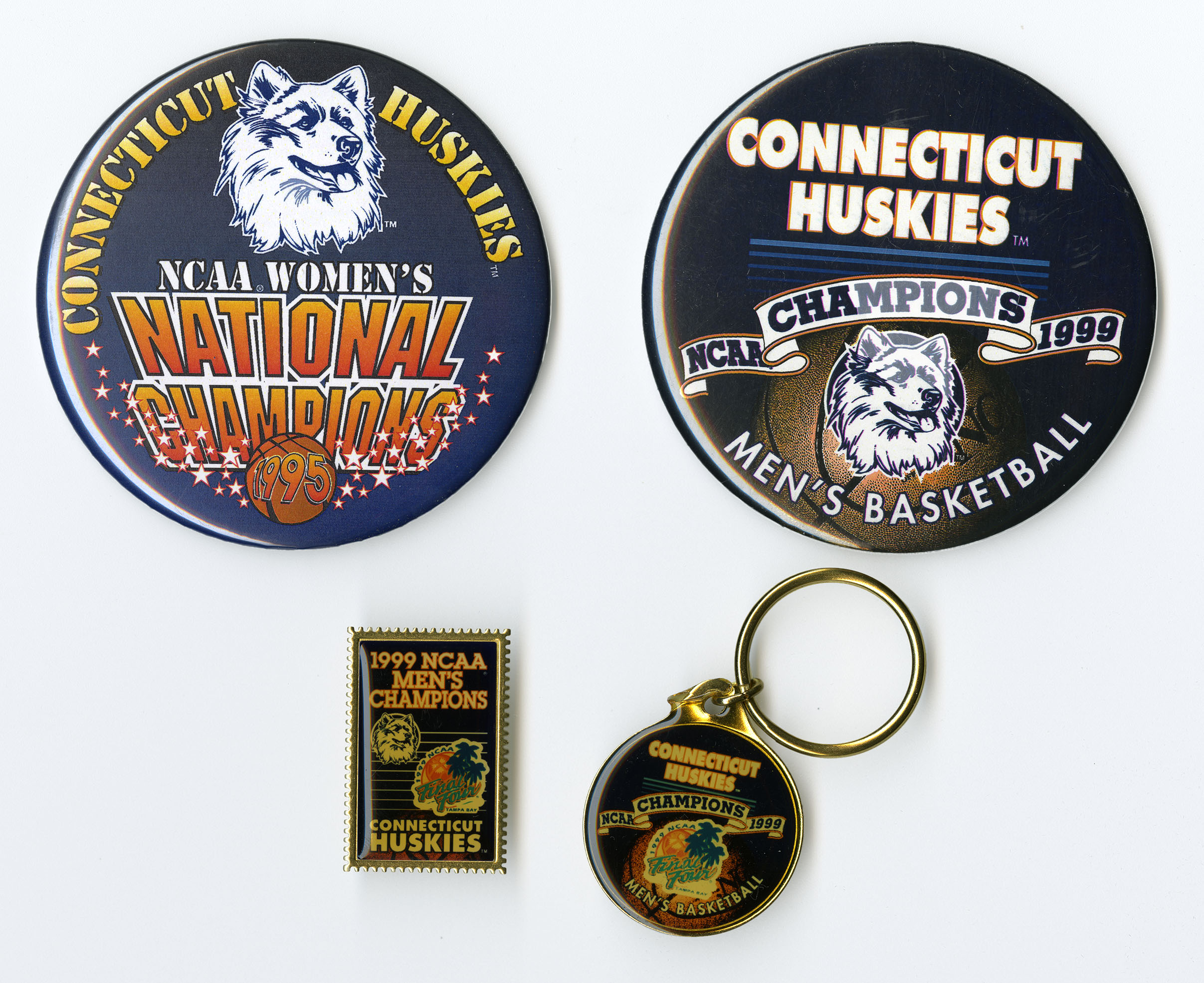 1999 Men's Basketball Championship pins