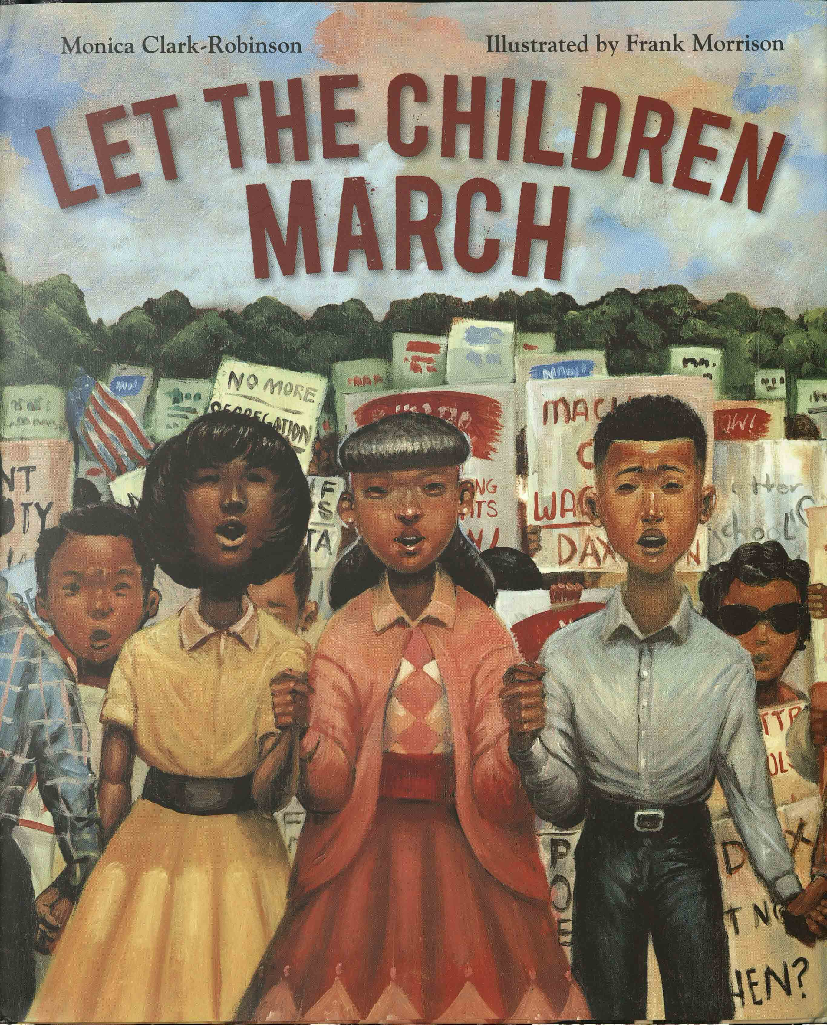Cover of Let the Children March, by Monica Clark-Robinson