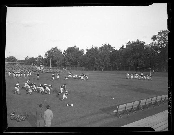 Gardner Dow field, University of Connecticut, 1947