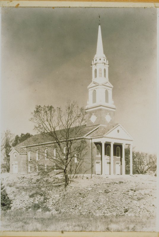 Storrs Congregational Church, 1933