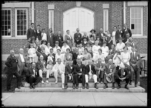 Storrs Family Reunion, 1921