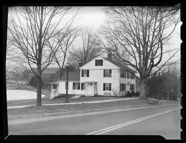 Whitney House and first post office, 1957