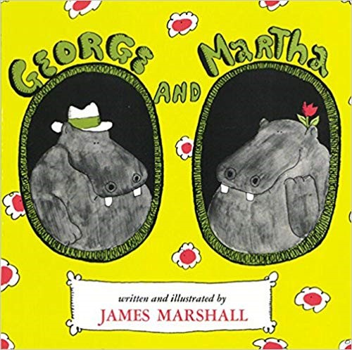 Cover of George and Martha by James Marshall