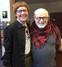 Kristin Eshelman and Tomie dePaola
