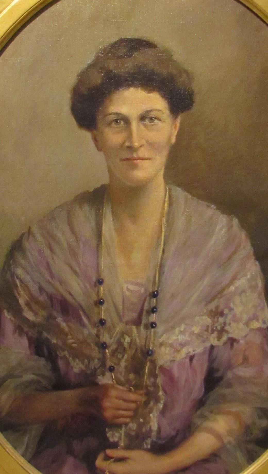 Portrait of Louise Crombie Beach (1925) by Ellen Emmet Rand