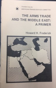 The Arms Trade of the Middle East: A Primer, by Howard H. Frederick