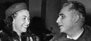 Grace and Tom Dodd, December 1945