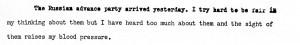 Portion of a letter, September 15, 1945