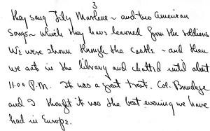 Portion of a letter, September 19, 1945