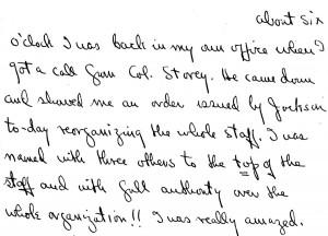 Portion of a letter, October 22, 1945
