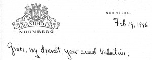 Portion of a letter, 2/14/1946