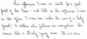 Portion of a letter, 2/4/1946