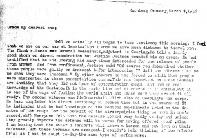 Portion of a letter, 3/7/1946