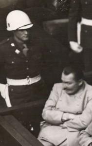 Göring in the dock