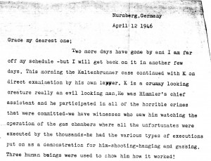 Portion of a letter, 4/12/1946