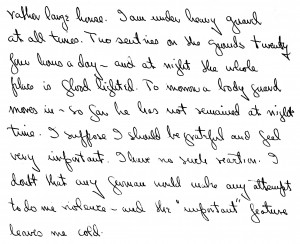 Portion of a letter, 5/19/1946