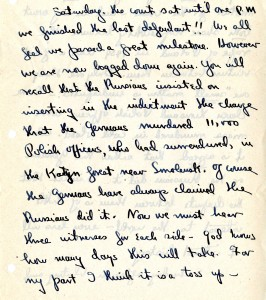 Portion of a letter, 7/1/1946